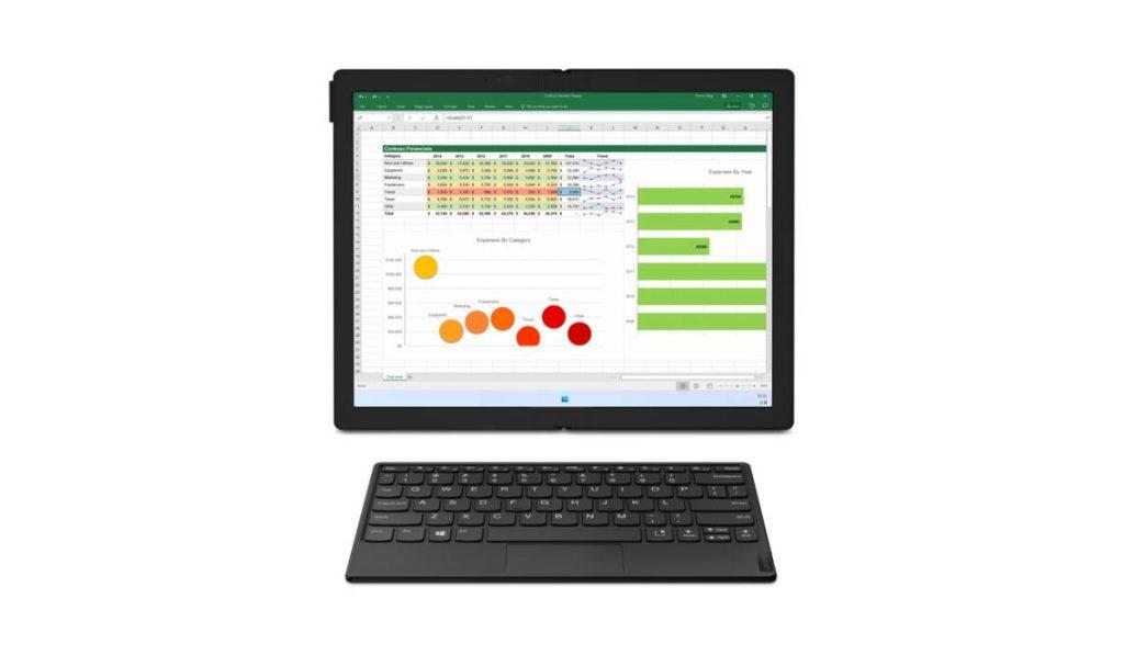 لابتوب ThinkPad X1 Fold بشاشة قابلة للطي