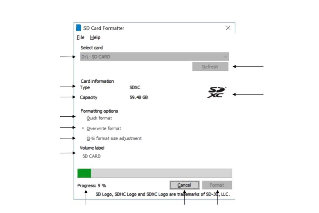 أفضل برنامج لعمل فورمات بطاقة الذاكرة أو كارت الميموري