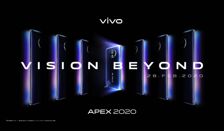 Vivo APEX 2020: فيفو تقدم مميزات مبتكرة في ابكس الجديد