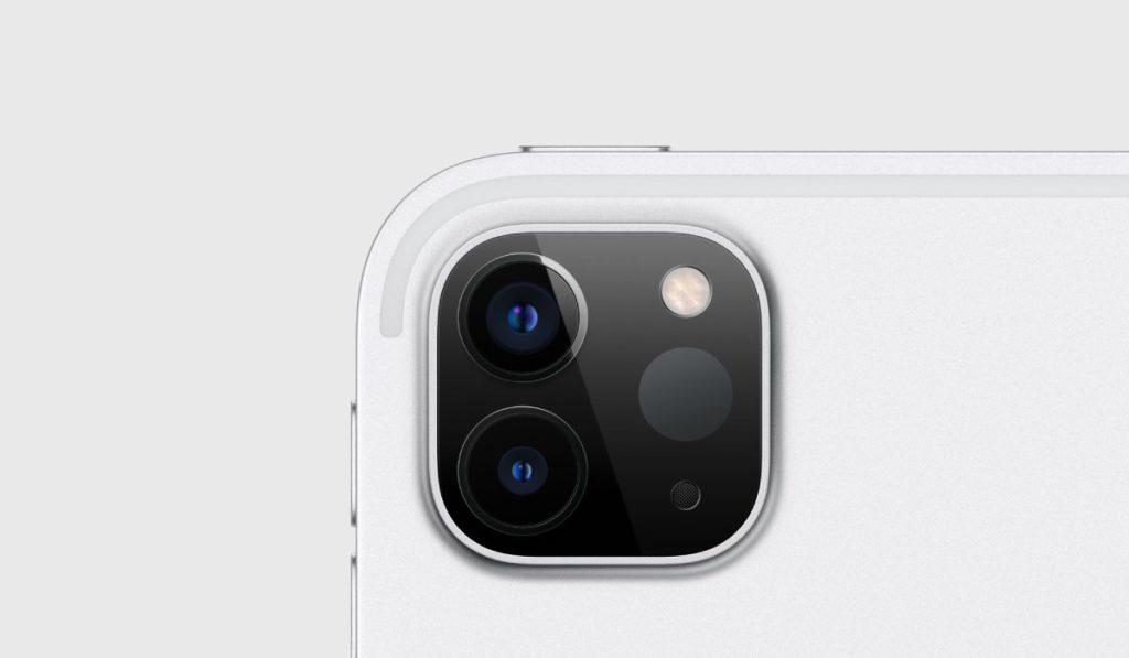 الكاميرا في ايباد برو 2020