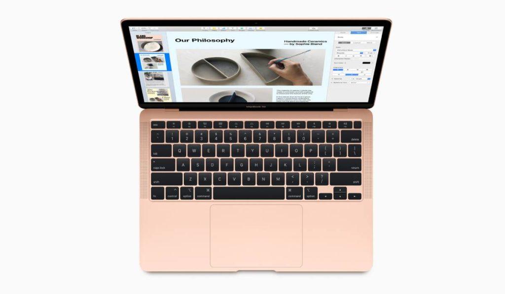 MacBook Air 2020 بلوحة مفاتيح مضيئة جديدة تحمل اسم Magic Keyboard