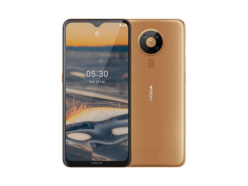 يعمل Nokia 5.3 بنظام التشغيل أندرويد 10