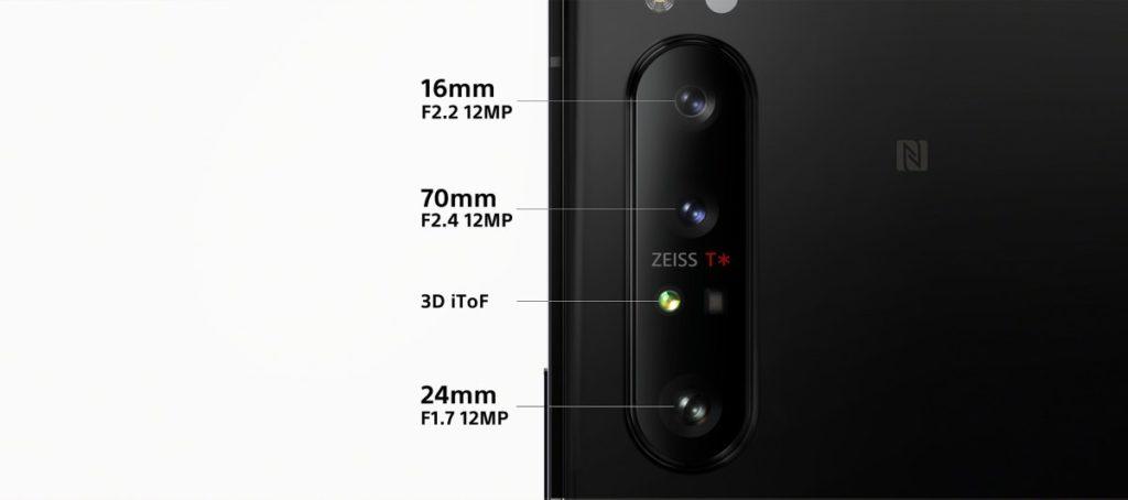 زودت سوني هاتفها الذكي الجديد Sony Xperia 1 II بثلاثة كاميرات خلفية