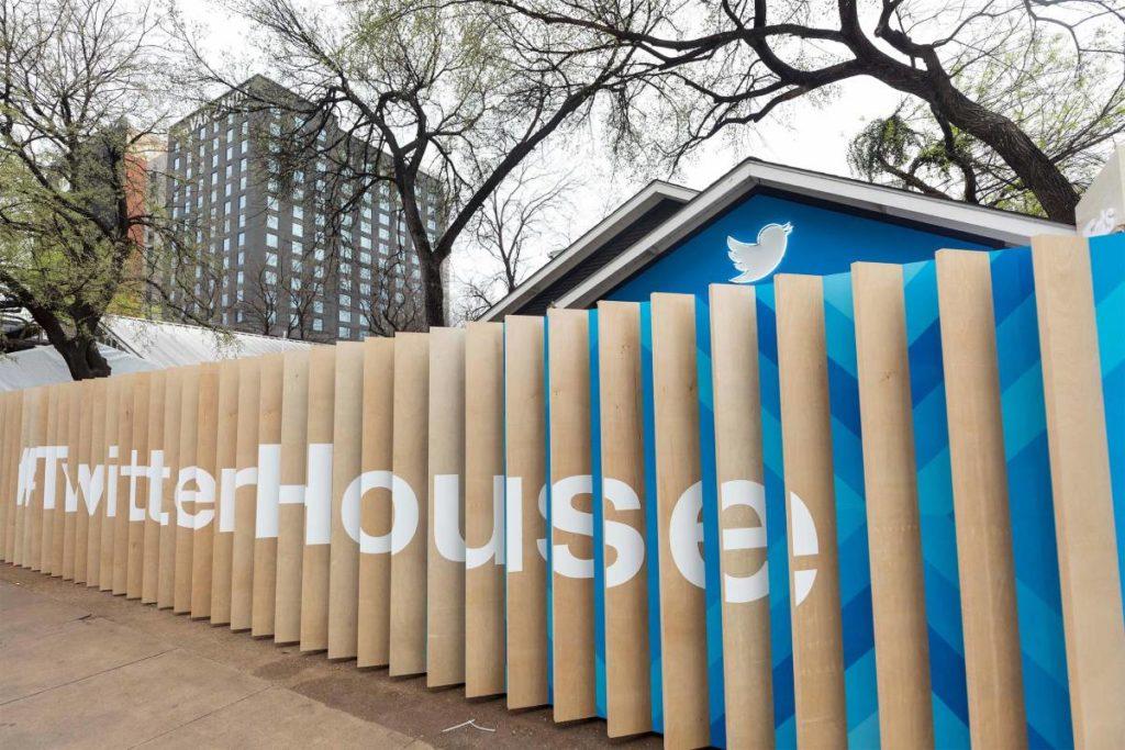 مشاركة تويتر في مهرجان SXSW