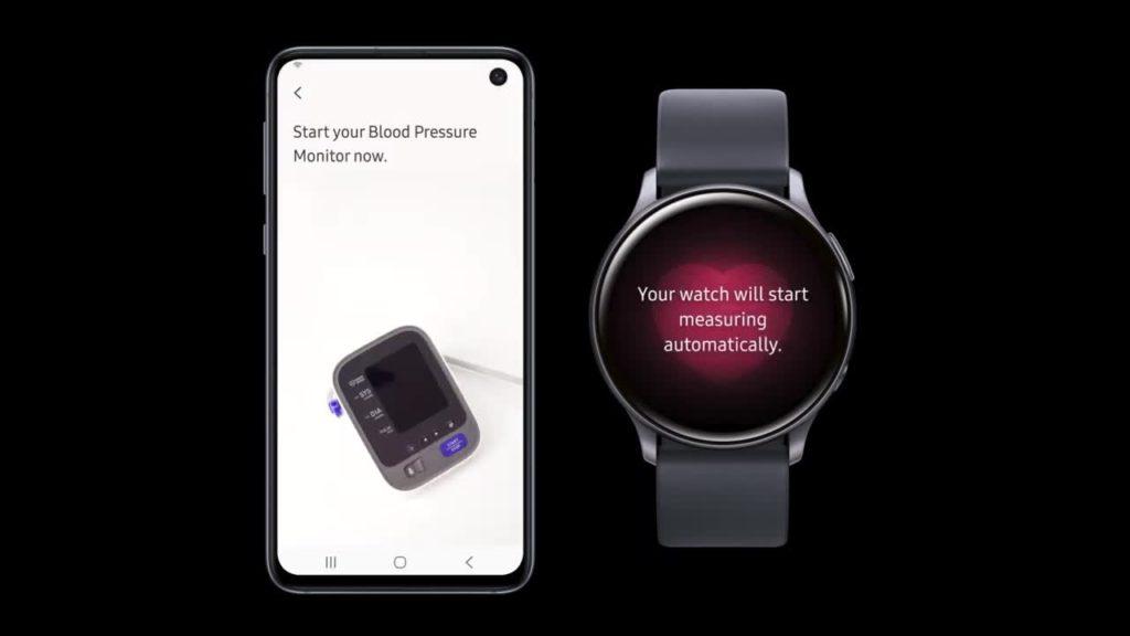 يمكن للمستخدمين الآن الاعتماد على ساعة سامسونج الذكية Galaxy Watch Active2 في قياس ضغط الدم