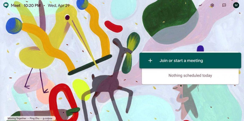 جوجل توفر خدمة اجتماعات الفيديو Google Meet مجانا