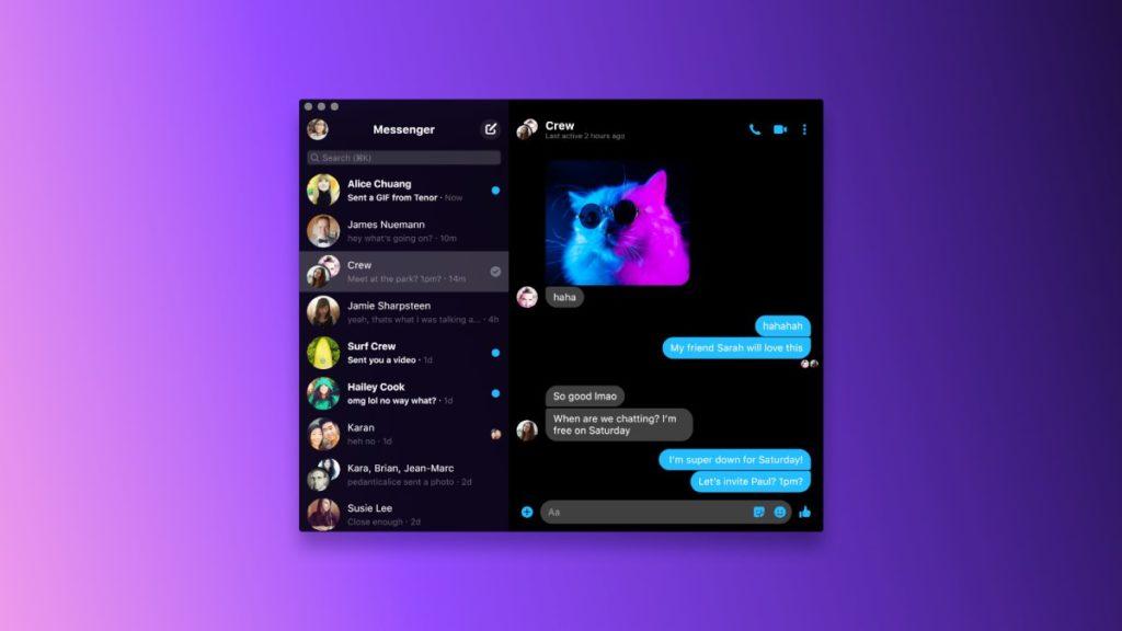 تطبيق ماسنجر لأجهزة ويندوز وماك متوفر الآن للتحميل مجانا