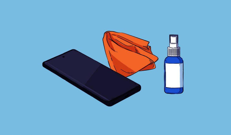 نصائح تنظيف الهواتف الذكية من سامسونج في ظل تفشي وباء كوفيد-19