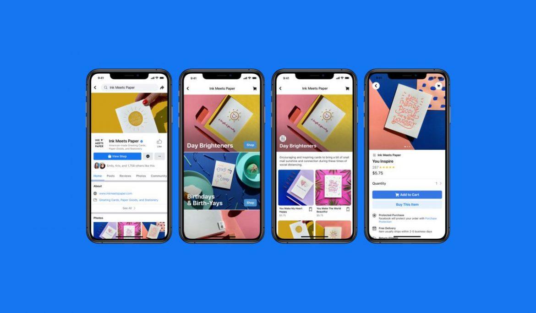 الإعلان عن Facebook Shops