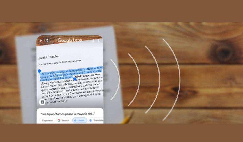 تطبيق عدسة Google لاندرويد وايفون