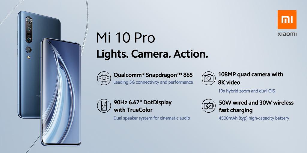 أحدث الهواتف الرائدة من شاومي Mi 10 Pro