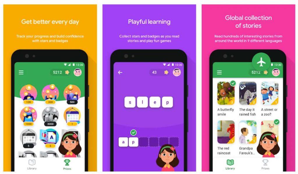 يساعد تطبيق Read Along الأطفال في تعلم القراءة