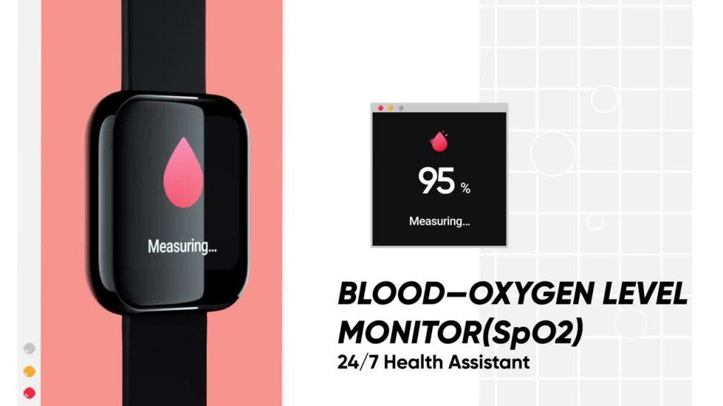 مزايا تتبع عوامل الصحة في ساعة realme watch