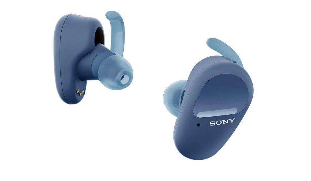 سماعة الأذن اللاسلكية الجديدة WF-SP800N