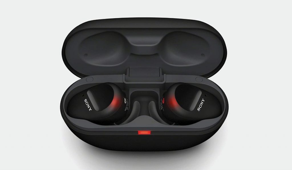 تدعم سماعة سوني اللاسلكية الجديدة WF-SP800N ميزة حجب الضوضاء