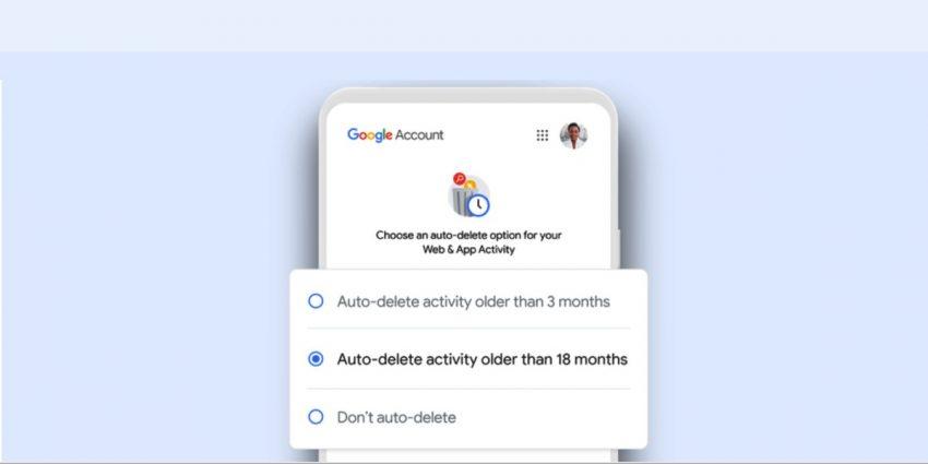 جوجل تتيح للمستخدمين إمكانية الحذف التلقائي للبيانات كل فترة زمنية