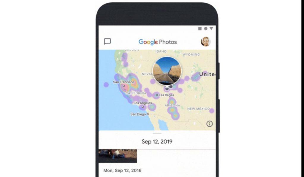 يوفر تصميم جوجل Photos الجديد ميزة عرض الصور والفيديو من خلال خريطة تفاعلية