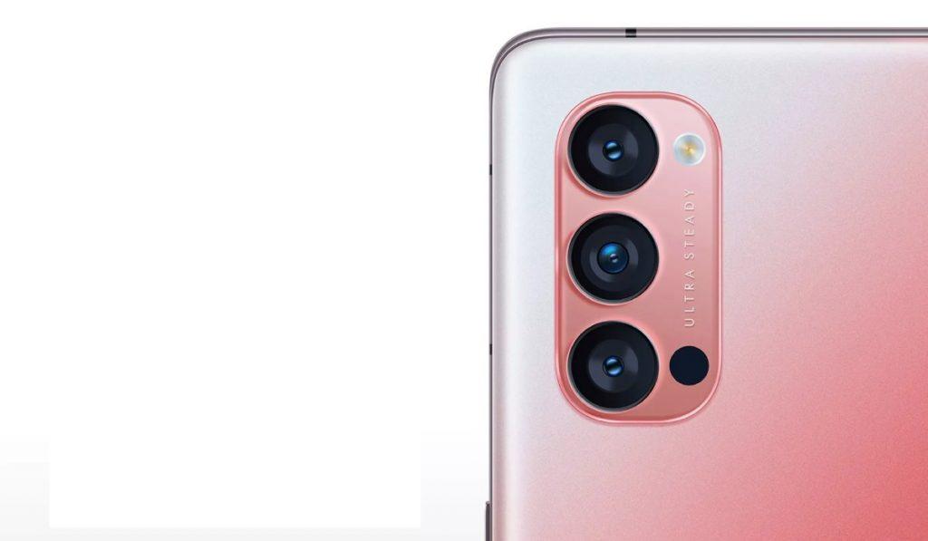 زودت اوبو هاتفها الذكي الجديد رينو 4 برو Reno 4 Pro بثلاثة كاميرات خلفية
