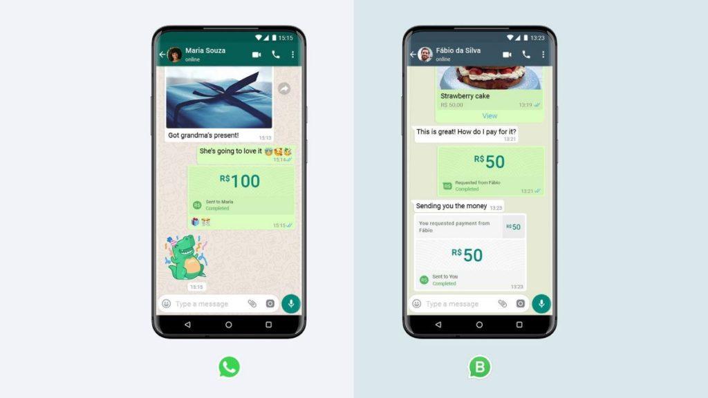 تتوفر ميزة إرسال الأموال من خلال واتساب الآن في البرازيل
