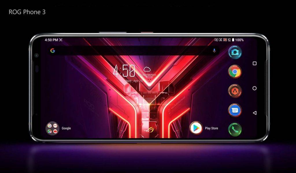 يحمل هاتف أسوس الجديد للألعاب Asus ROG 3 شاشة بتردد 144 هرتز