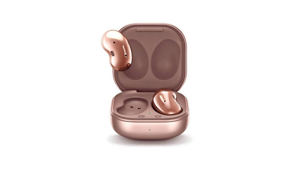 سماعة الأذن اللاسلكية جالاكسي بودز لايف بتصميم يشبه حبة الفاصولياء