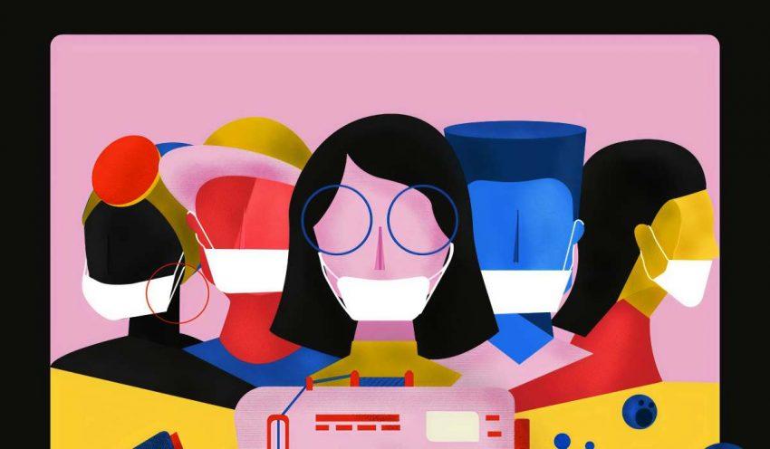 فيسبوك تنبه مستخدميها ومستخدمي انستجرام بضرورة ارتداء الكمامات