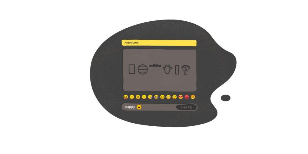 إمكانية تحويل الإيموجي لنقوش باللغة المصرية القديمة