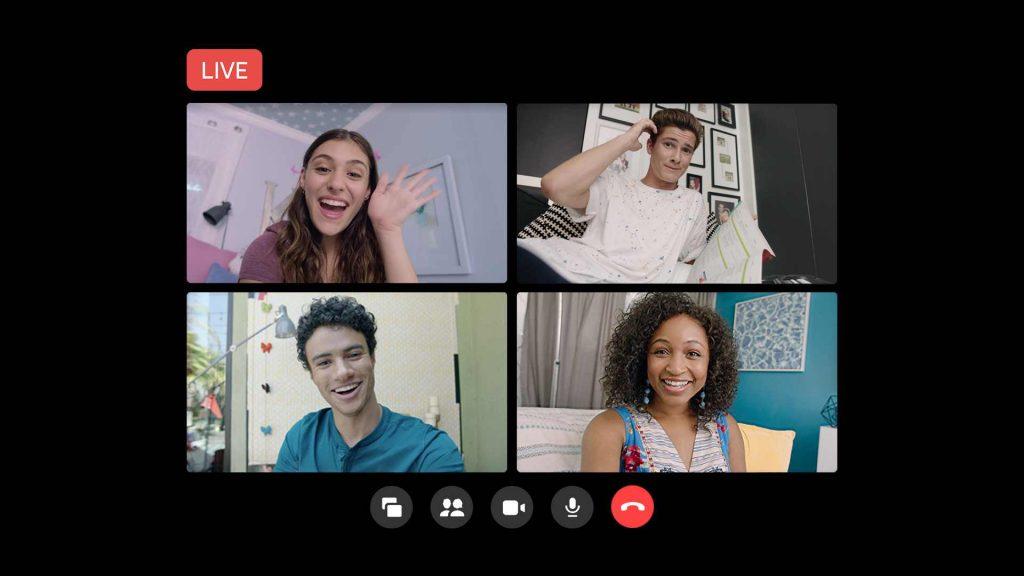 ميزة البث المباشر من غرف الدردشة Messenger Rooms