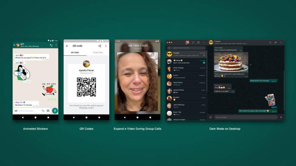 مميزات واتساب Whatsapp الجديدة