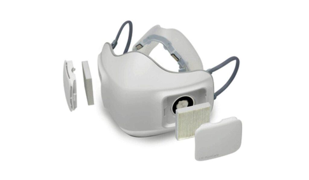 القناع الذكي PuriCare Wearable المزود بتقنية تنقية الهواء
