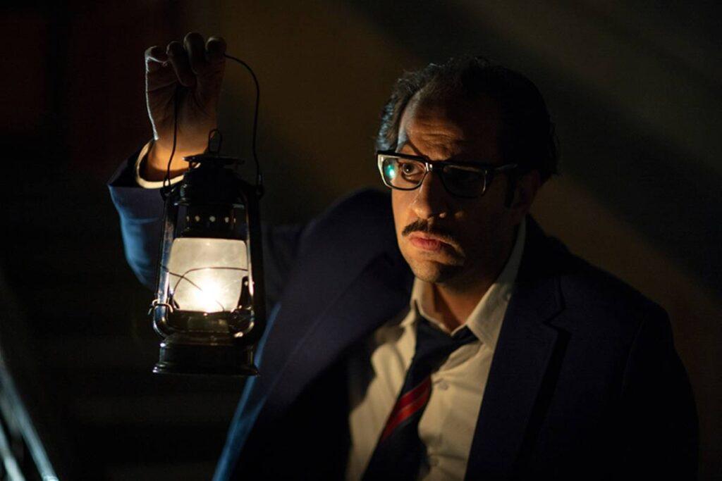 """صورة الممثل أحمد أمين من مسلسل """"ما وراء الطبيعة"""""""