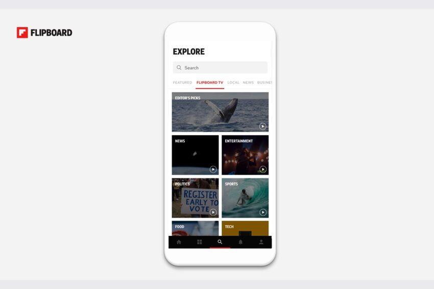 فليبورد توفر خدمة الفيديو Flipboard TV