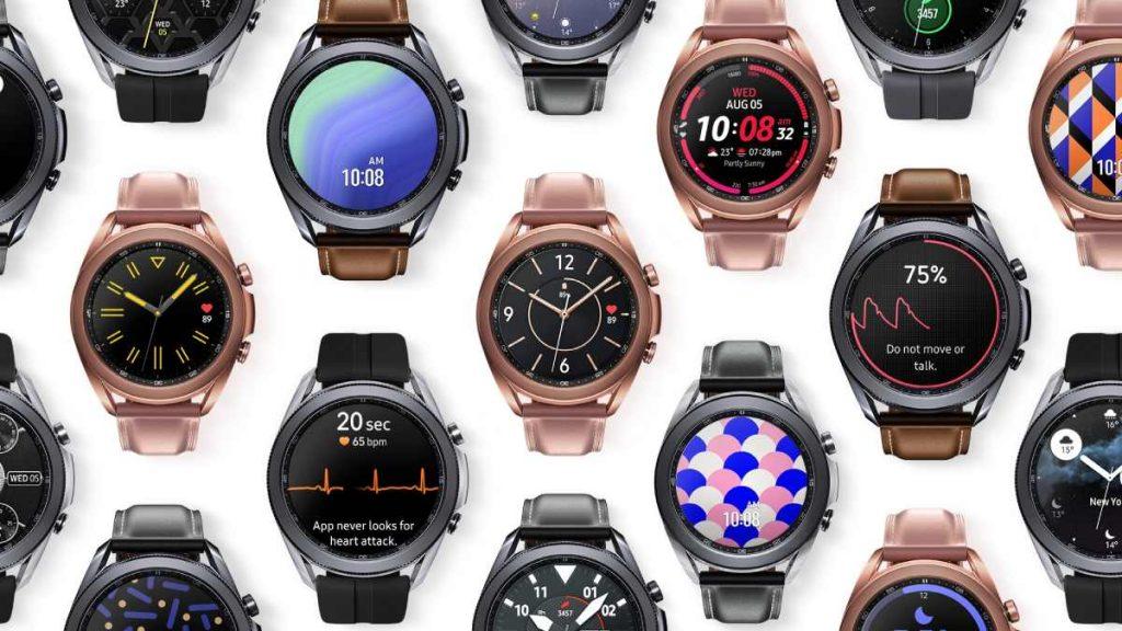 تحسينات على تجربة المستخدم  Galaxy Watch 3