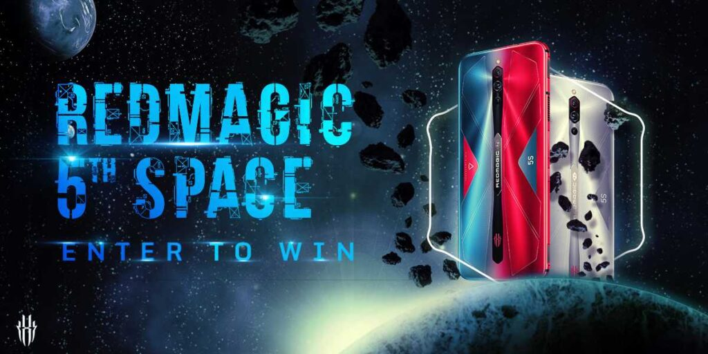 فرصة الفوز بهاتف RedMagic 5S