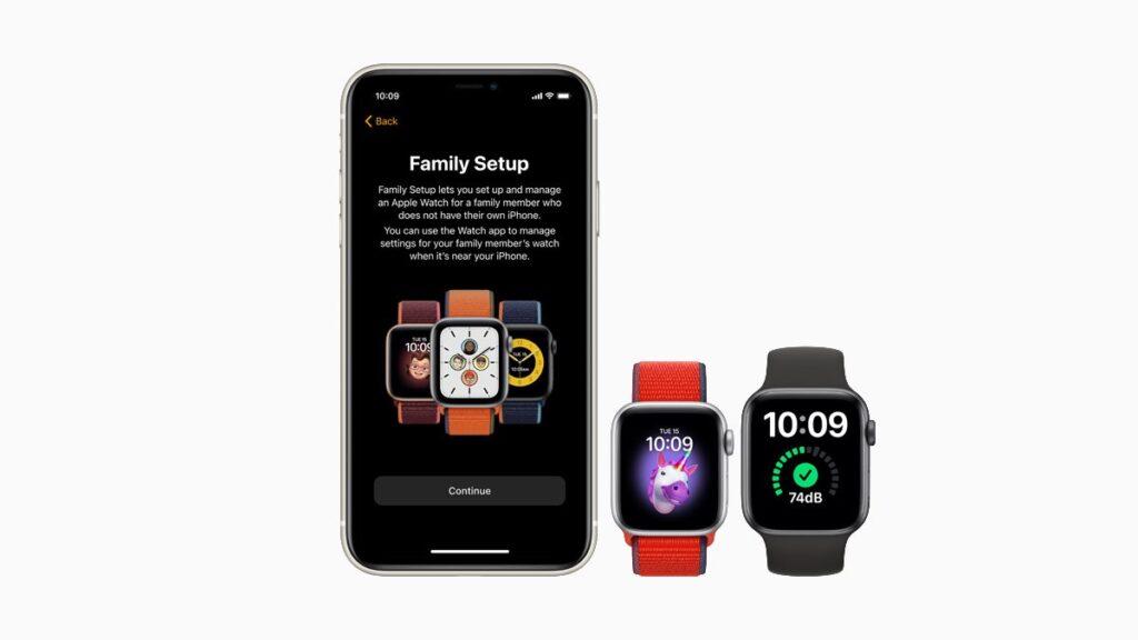 يوفر watchOS 7 لمستخدمي ساعة ابل واتش SE خيارات لإعداد الساعة للعائلة