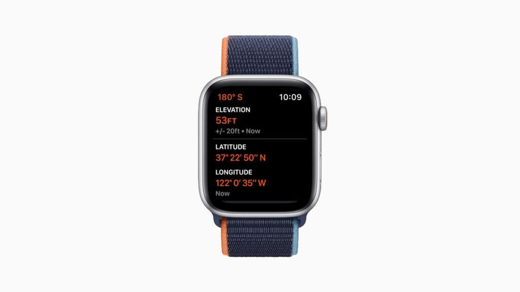 مميزات جديدة لتتبع عوامل اللياقة apple watch se