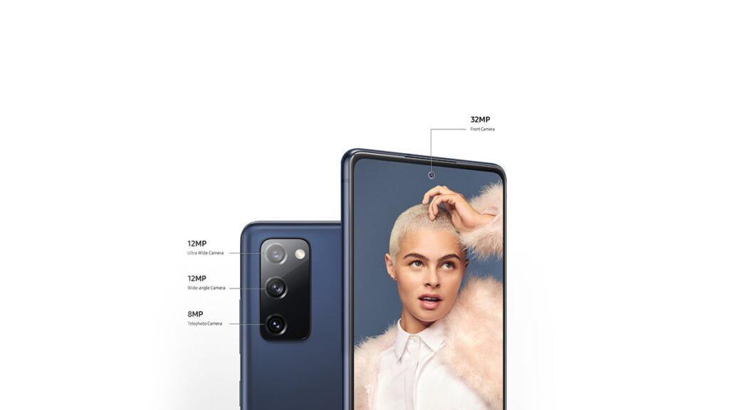 الكاميرا في Galaxy S20 Fan Edition