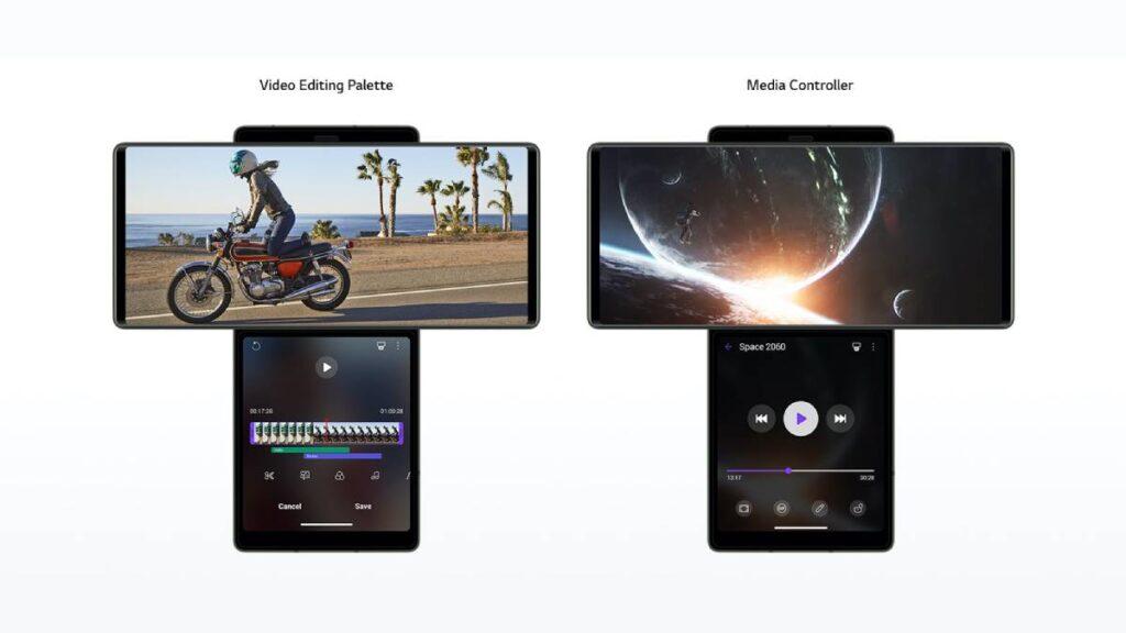 يأتي هاتف ال جي وينج LG Wing الجديد بتصميم مختلف تماما عن أي هاتف ذكي آخر