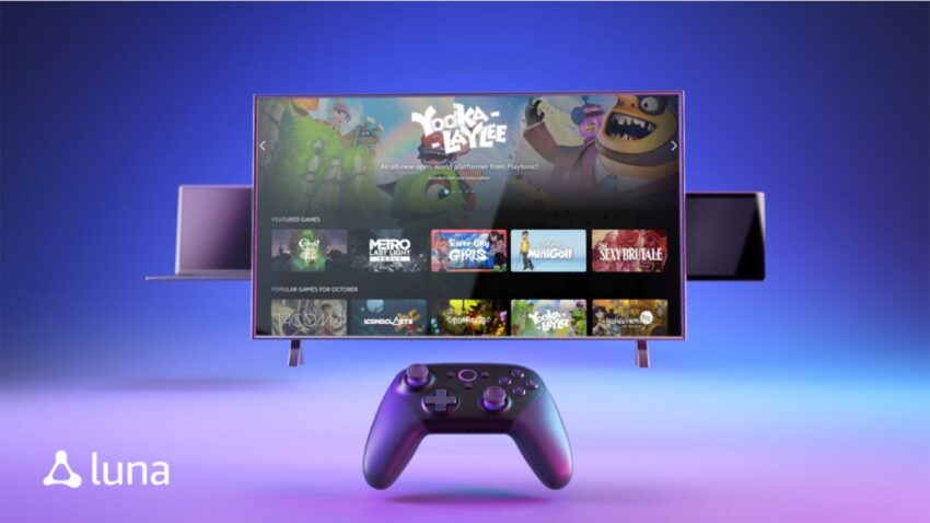 أمازون تعلن عن خدمة الألعاب السحابية الجديدة Luna للعب عبر الإنترنت