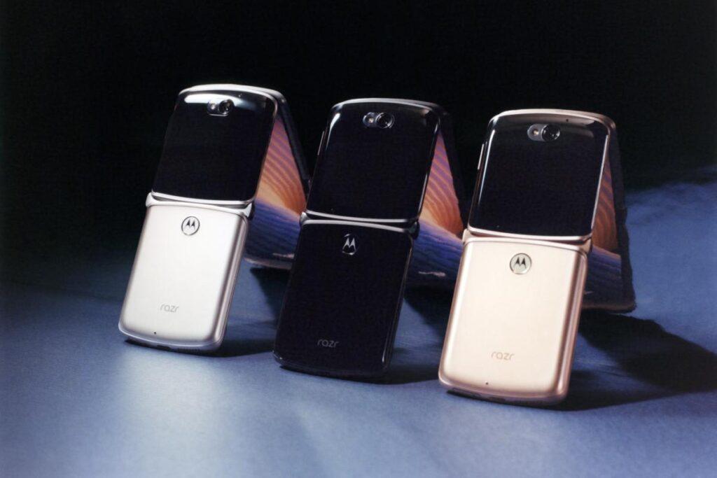 الوان Motorola Razr 2020