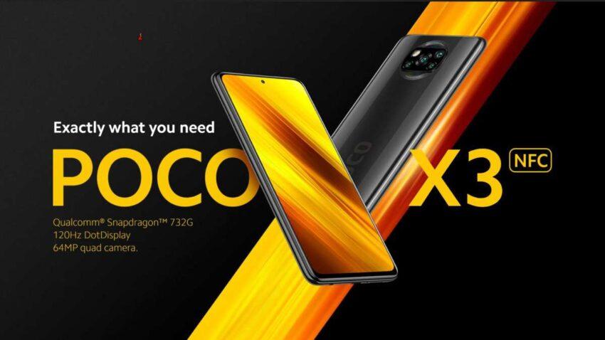 مواصفات POCO X3 NFC ومميزات وسعر هاتف بوكو الجديد