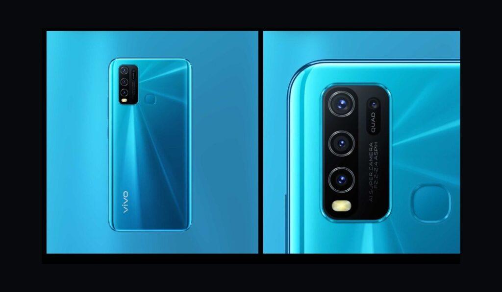 يحمل هاتف فيفو الجديد Vivo Y30 أربع كاميرا خلفية