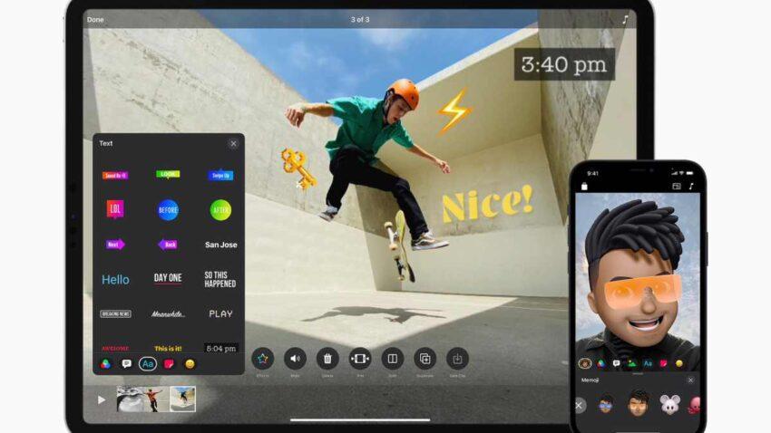 تطبيق ابل Clips لإنشاء الفيديو يحصل على العديد من المميزات الجديدة