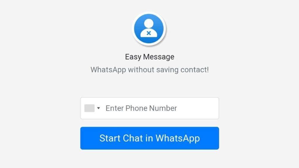 كيف ترسل رسائل واتس اب دون حفظ الرقم أو جهة الاتصال