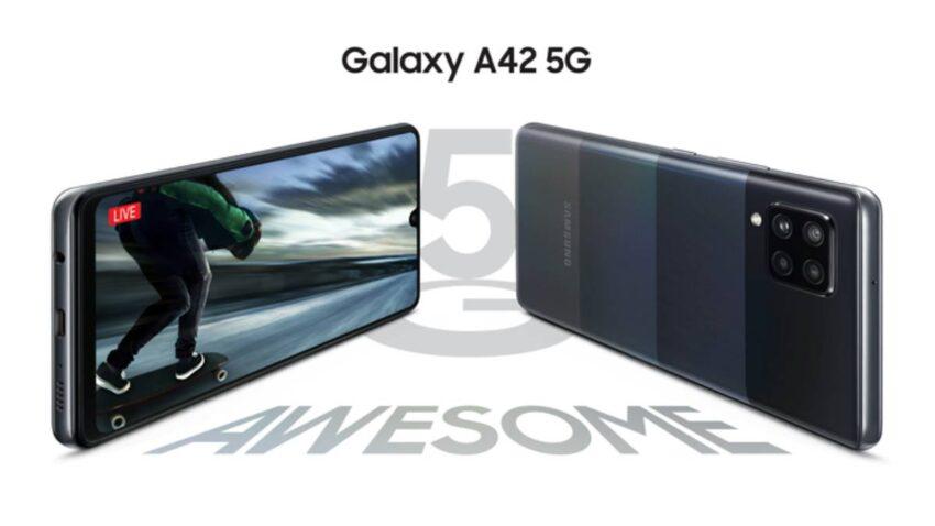 مواصفات Galaxy A42 5G ومميزات وسعر