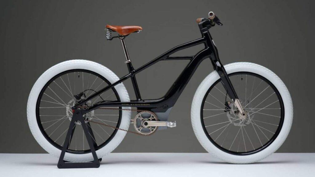 الدراجة الكهربائية serial 1 مستوحاة من أقدم دراجة نارية صنعتها هارلي ديڨيدسون
