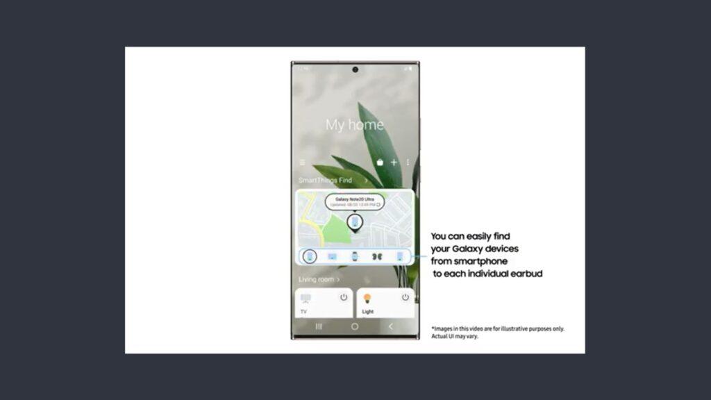 يمكن الاعتماد على SmartThings Find في تحديد موقع أجهزة جالاكسي المفقودة