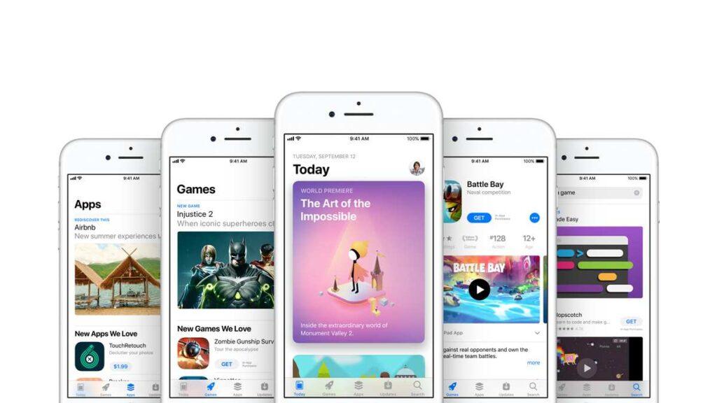 يعد متجر التطبيقات App Store وقطاع الخدمات مستقبل شركة ابل