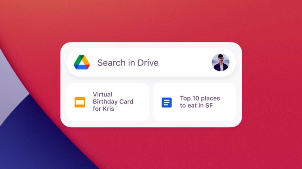 Widgets جوجل الجديدة لمستخدمي ايفون