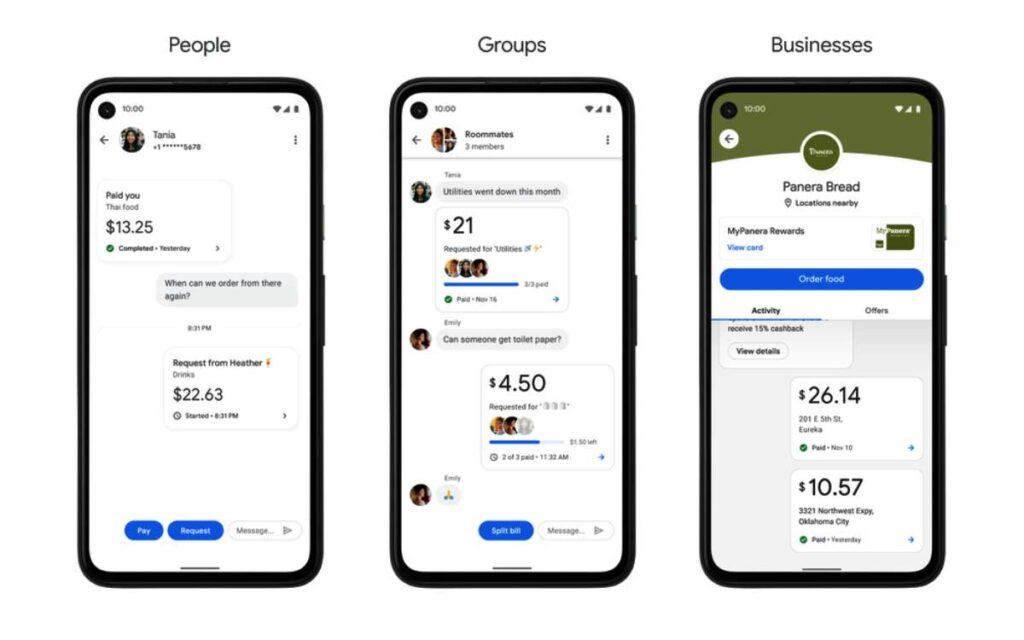 يركز تطبيق جوجل باي Google Pay الجديد على الأصدقاء والشركات التي يتعامل معها المستخدم مرارا